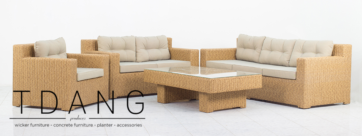 Abbey 4 Pieces Deep Seating Group With Cushions (CODE TD1043)