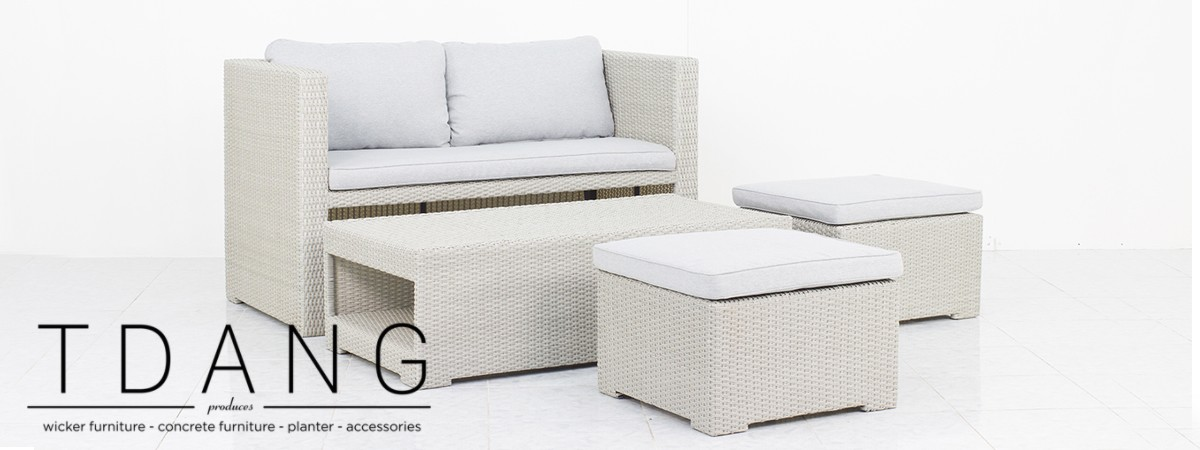 Rio 4 Pieces Deep Seating Group With Cushions (CODE TD1025)