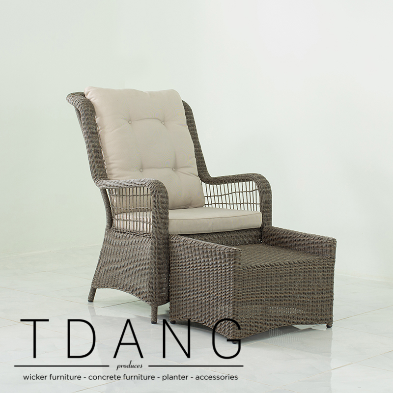 Excellent Elise Relax Wicker Chair With Ottoman Code 2016 Ibusinesslaw Wood Chair Design Ideas Ibusinesslaworg