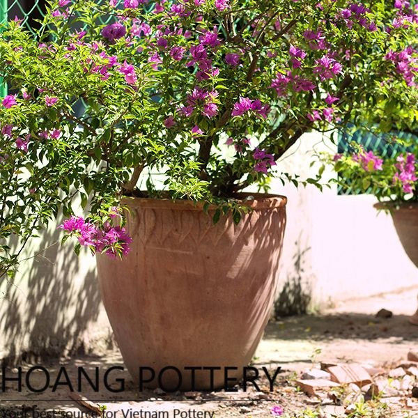 & Antique Red Clay Flower Planters (HPTC100)