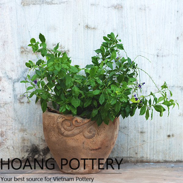 Antique Designs Flower Pot