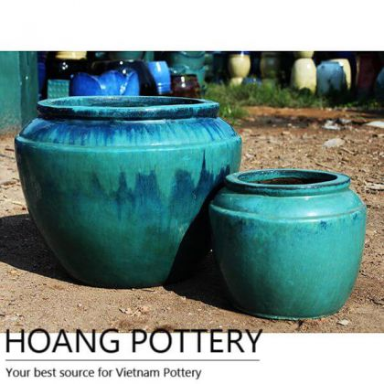 Medium Pottery Flower Planters (HPHA029)
