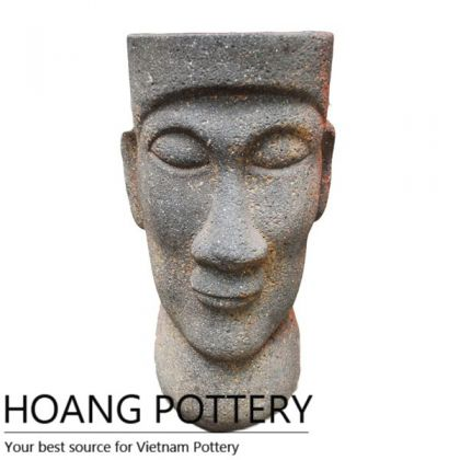 Oldstone Head Statue Decor (HPSB111)