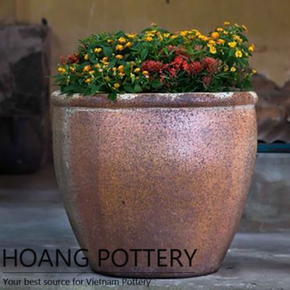 Quality Rustic Flower Pot Outdoor Decor (HPHP014)