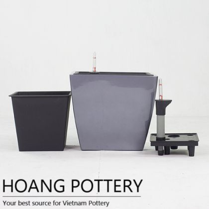 Painting Fiberglass Pot (HP-FG004)