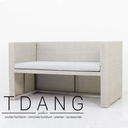 Rio Wicker Sofa 2 Seats (TD3031)