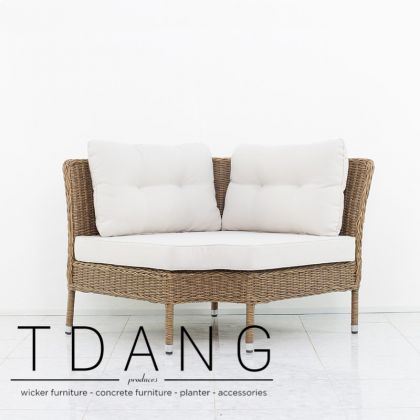 Harrison Wicker Sofa Corner (TD3042)
