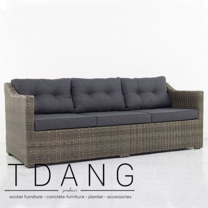 Atlantic Wicker Sofa 3 Seats (TD3050)