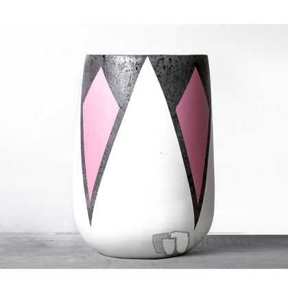 Rectangular Decor Bell Shaped Pot