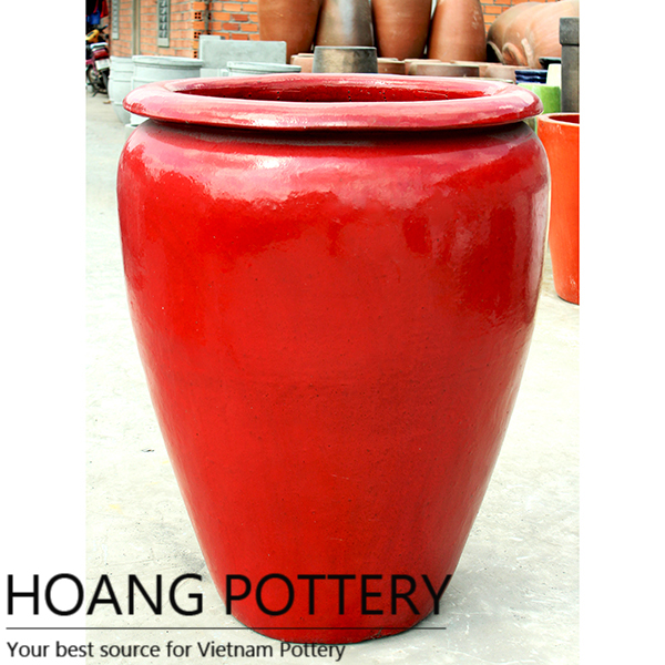 Giant Red Jar Outdoor Hpan017