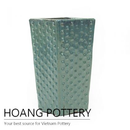 Tall Square botton planter